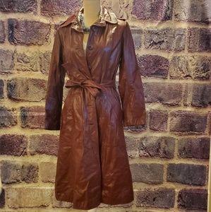Womens Wilson's Genuine Leather trenchcoat
